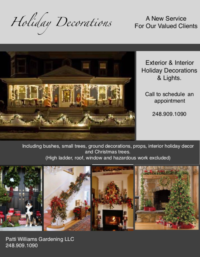 Professional Christmas Decorating Services
